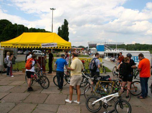 Vistula Picnic of Czwórka with the Mobile Bike Service