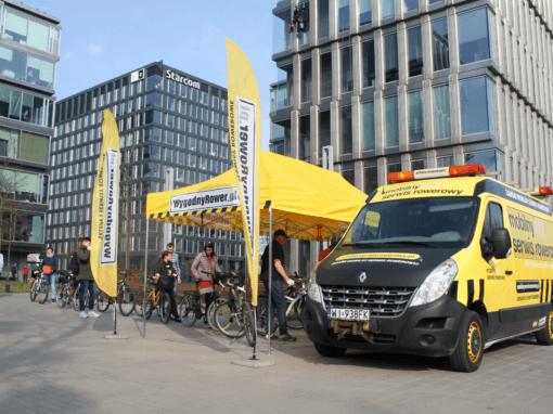 Mobilny Serwis Rowerowy dla Najemców Platinium Business Park
