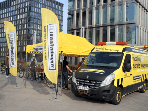 Mobile Bike Service for Tenants of Platinium Business Park