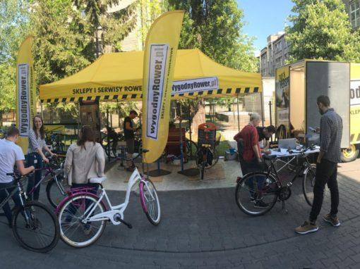 Mobile Bike Service for Dentsu Aegis Polska
