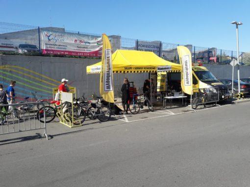 Mobilny Serwis Rowerowy dla klientów  CH Morena