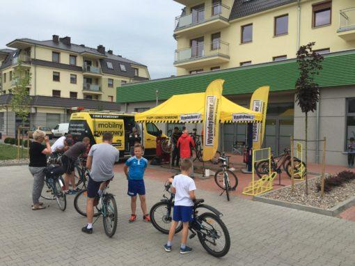 Mobile Bike Service for Biedronka in Września Clients