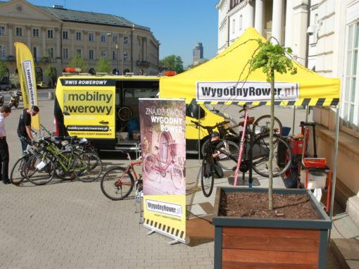 Mobile Bike Service for mBank employees in Warsaw