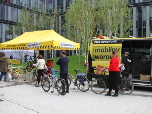 Mobile Bike Service for Tenants of office complex in Warsaw, Postępu St.
